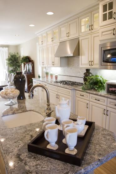 Modern elegant kitchen