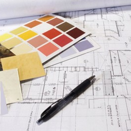 color chps and house plans