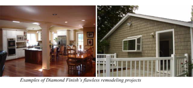 Examples of Diamond Finish's flawless remodeling projects