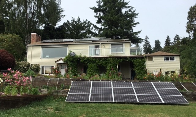 West Seattle Natural Energy solar panel systems cut your home's energy costs, while increasing your electricity's reliability; Responsible Contractors in WA