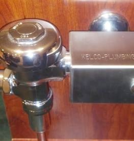 The Flushometer Lock, an exclusive PipePro Plumbing, LLC product